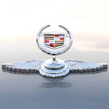 for cadillac eagle stand car chrome logo ornaments badge