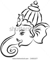 black n white ganesh tattoo image real photo pictures images