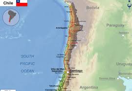 chile physical map physical features spices of chile