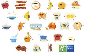 thanksgiving emojis holiday inn express brand introduces first all breakfast emoji