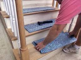 How To Lay Padding For Laminate Flooring How To Install A Carpet Runner On Stairs Hgtv