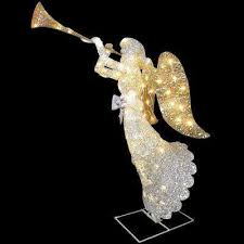Christmas Outdoor Decorations Angels by National Tree Company Outdoor Christmas Decorations Christmas