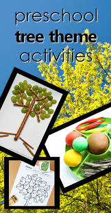 theme tree tree theme preschool activities fantastic fun learning