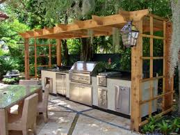 Outside Kitchens Ideas Manificent Design Simple Outdoor Kitchen Charming Simple Outdoor