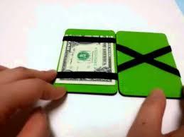 mens magic wallet slim money clip leather wallet id holder
