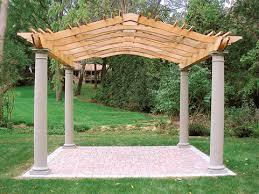 Trellis Structures Pergolas Garden Pergola No Cp7 By Trellis Structures