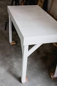 Diy Wood Desk by Diy Colorful Epoxy Topped Desk U2013 A Beautiful Mess