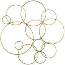 Gold Wall Decor by Pier 1 Imports Gold Circles Wall Decor Polyvore