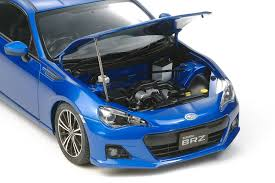car subaru brz amazon com tamiya 1 24 subaru brz model car kit toys u0026 games