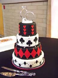 wine country cakes poker wedding cake