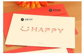 korean creative 365 days greeting cards birthday card diy