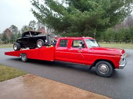 Ford F350 Used Truck Bed - 1977 ford f350 custom car hauler stock 000003 for sale near