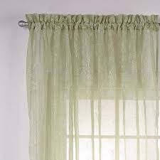 Linen Valance Reese Embroidered Sheer Panel And Valance Curtainshop Com