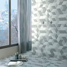 Gray Floor Bathroom - hexagonal tile you u0027ll love wayfair