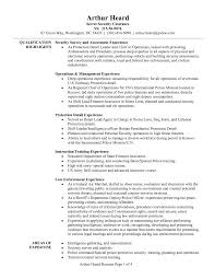 detailed resume exle security clearance resume exles army infantry