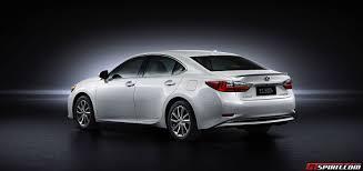 lexus sedans 2016 official 2016 lexus es gtspirit