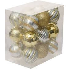 holiday time christmas ornaments traditional 60mm shatterproof