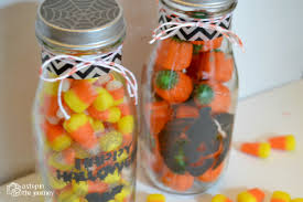 Halloween Candy Jars by Halloween Treat Jars With Martha Stewart Crafts