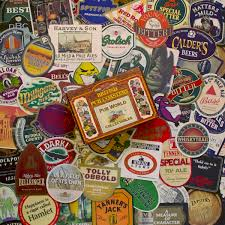 50 special edition british pub famous brand beer mats coasters