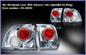 custom car tail lights civic tail lights