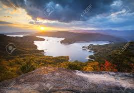 South Carolina scenery images Upstate south carolina fall foliage lake jocassee scenic autumn jpg