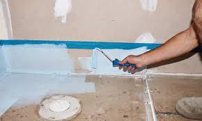 Waterproof Plaster For Bathroom How To Waterproof Your Bathroom Floor Bunnings Warehouse