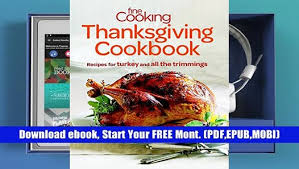 read cooking thanksgiving cookbook recipes for turkey
