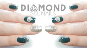 easy diamond gel nail art for beginners new year u0027s eve nails
