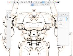 how to draw mecha the basics