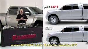 toyota tacoma rancho lift rancho quicklift shocks my4by com