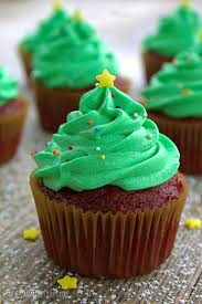 Christmas Tree Frosting 19 Cute Christmas Cupcake Ideas Easy Recipes And Decorating Tips
