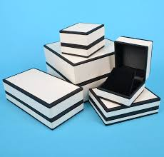 black bracelet box images Cream and black jewellery box for bracelets and watches jpg