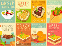 food posters set stock vector illustration of feta 68643672