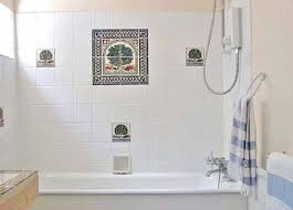 white bathroom tile designs white bathroom tile bathroom tile oval cotton the black accent
