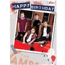 the vamps sister birthday card danilo