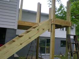 Deck Stairs Design Ideas Wood Deck Step Designs Different Stair Design With Landing
