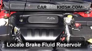 1 4 l turbo dodge dart add brake fluid 2013 2016 dodge dart 2013 dodge dart rallye 1 4