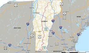 Map Vermont Vermont Route 100 Wikipedia