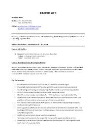 Resume Current Job by Ofc Resume Girdhari
