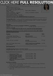 Std Resume Format Resume Format For Overseas Job Resume For Your Job Application