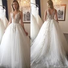 zuhair murad bridal discount 2017 zuhair murad wedding dresses lace applique a line