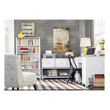 home decorators collection oxford white open bookcase 2877400410