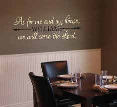 40 best home decor scripture wall decals images on pinterest vinyl wall decals as for me and my house we by justthefrosting as vinyl wall