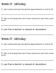daily oral language worksheets free worksheets library download