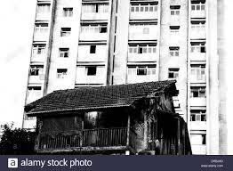 house 1985 old house and new building banganga mumbai maharashtra india