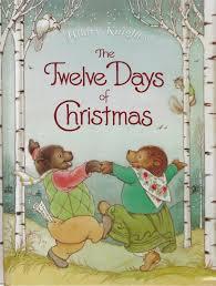 the marlowe bookshelf hilary s the twelve days of