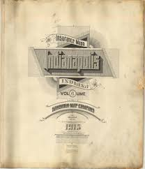 Maps Indianapolis Sanborn Insurance Map Indiana Indianapolis 1915 Typography