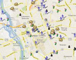 map of columbia south carolina columbia sc is on spotcrime spotcrime the s crime map