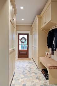 mudroom lockers with bench entry traditional with beige bench