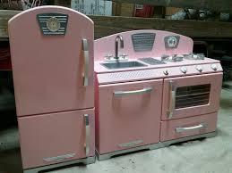 find more kidkraft 2 piece pink retro kitchen and refrigerator
